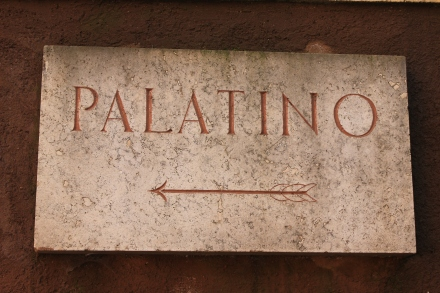 Off to the Palatine Hills we went.