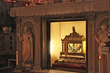 The chains of St. Peter.