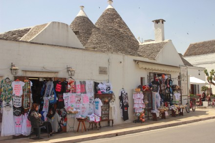 Unfortunately, since Alberobello was named on the UNESCO World Heritage website, they have turned a lot of the Trulli into souvenir shops.